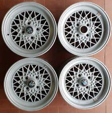 BMW quattro cerchi in lega d'epoca serie E21 316 318 320 323 E02 1602 1502 2002
