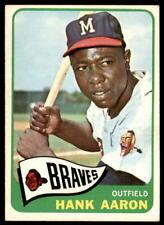 1965 Topps Baseball - Pick A Card - Cards 1-300