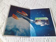 VINTAGE fireball XL5 BT phonecard british telecoms RARE NEW 1995 Gerry Anderson