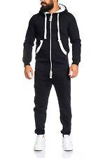 Lorenzo loren herren jumpsuit jogger jogging anzug trainingsanzug overall LL204C