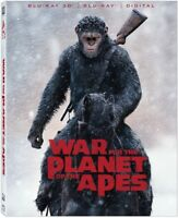 War For The Planet Of The Apes [New Blu-ray 3D] With Blu-Ray, 2 Pack, Digitall