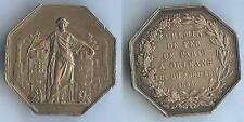 Jeton - PARIS à ORLEANS chemins de fer 1838 argent (silver) 24 gr d=37mm