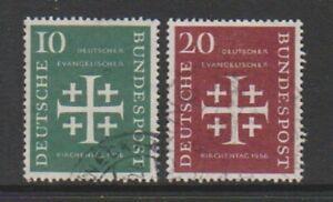 Germany (West) - 1956 Church Convention set - F/U - SG 1161/2 (a)