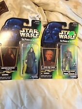 Tarkin Palpatine Lot Kenner 1996 Action Figures new in package