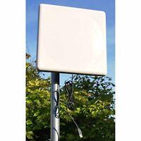 50dBm Long Range Wi-Fi USB High Gain Antenna Adapter 1000mW 802.11N Windows MAC