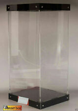 """Acrylic Display Box Led Light Stand Fit 12"""" 1/6 scale Marvel Hero Action Figure"""