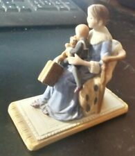 "Norman Rockwell 1983 Porcelain Figurine ""Bedtime"" Norman Rockwell Museum"