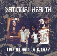 NATIONAL HEALTH LIVE AT HULL UK1977 1CD GALAXY GX059 PROGRESSIVE ROCK BAND