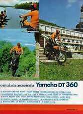 Z12 Ritaglio Clipping del 1974 Prova Yamaha DT 360