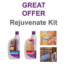 Rejuvenate Floor & Cabinet Restorer Wood & Laminate - clean polish COMBO OFFER
