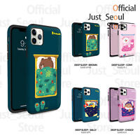 Official LINE FRIENDS Guard Up Bumper Phone Case Cover Sleep Series+Tracking