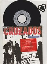 """7 """" CRUZADOS bed of lies 7"""" b/w chains of freedom OST Die Katze"""