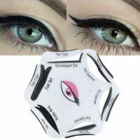 6 PCS/Set Cat Eye Line Stencil Template Shaper Cosmetic Makeup Beauty Accessory