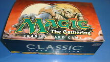 Magic the Gathering Mtg Empty 6th edition Booster box!