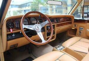 Rolls Royce Silver Spirit  Silver Spur 1980 - 1989 Wood Steering Wheel NARDI NEW