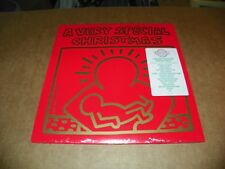 A VERY SPECIAL CHRISTMAS-WHITE VINYL LP KEITH HARING COVER- NEW-SEALED