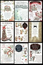 CHRISTMAS CARD - LOVELY WORDS For a Special Couple or Family Great Selection