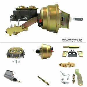 "60-62 Chevrolet Truck Manual Trans FW Mount Power 8"" Dual Booster Kit Disc/Drum"