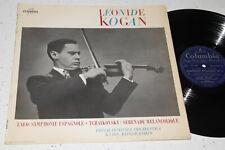 Columbia FCX 845 Lalo Violin Concerto Leonid Kogan Kondrashin 1960 ED1 NM