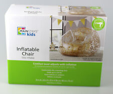 Inflatable Chair, Gold Glitter - Brand New Kids Gift, Great Indoors or Outdoors