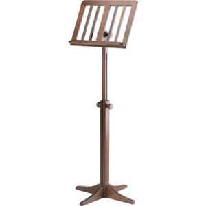Konig & Meyer 1161100000 Wooden Music Stand Walnut