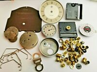 Job Lot of Vintage Clock Parts for Spares (341)