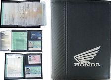 Pochette Etui Porte carte grise *HONDA moto* Permis conduire - Assurance