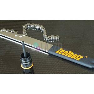 ICETOOLZ Cassette Chain Whip + Lockring Tool SHIMANO SRAM Fitment 09C1 + 53A2