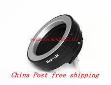 M42 Lens to Leica M/ Voigtlander M/ Ricoh GXR Mmount Camera Adapter