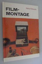Film-Mounting Heinz koleczko/Tips + Tricks/DDR reference book 1981/Film bonding, - Cut