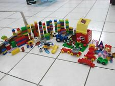 Lego Duplo Bricks Blocks Figures 295 pieces  Animals Cars Special Pieces 7.5 lbs