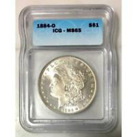 1884 O Morgan Dollar ICG MS65 #126581