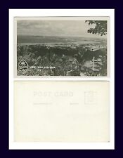 SOUTH PACIFIC GUAM VIEW FROM COM-MAR REAL PHOTO POSTCARD 105 EKC BACK CIRCA 1949