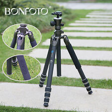 Bonfoto B671C Carbon Kamera-Stativ, Stativ Reise, Extrem Leichtes Dreibeinstativ