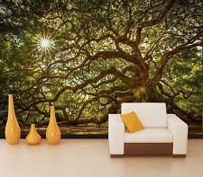 3D Tree Branch 7264 Wallpaper Mural Wall Print Wall Wallpaper Murals US Lemon