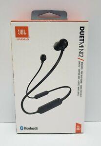JBL Duet Mini 2 Bluetooth Wireless Headphones - Black (New)