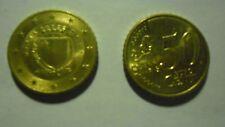 MALTA MONETA  DA 0,50 CENTESIMI DI EURO 2013