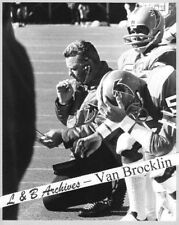 NORM VAN BROCKLIN Falcons Harmon WAGES Photo Vikings