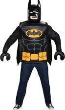 LEGO Batman Classic Adult Costume Tunic & Cape Halloween Fancy Dress Disguise