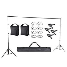 10x8.5ft Adjust Background Support Stand Photography Backdrop Detach Crossbar