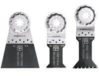Fein 35222952090 StarlockPlus Bi-Metal E-Cut Saw Blade Set, 3 Piece