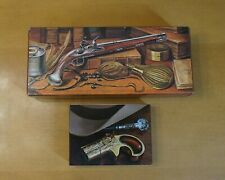 Avon Unopened Bottle Lot Derringer Decanter & Dueling Pistol 1760