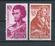 SPANISH SAHARA , SPAIN , 1953 , MUSICIANS , CHILD WELFARE,  SET OF 2 PERF , MNH