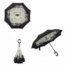 Paraguas de mujer blanco sin marca