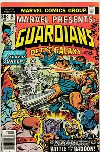 MARVEL PRESENTS GUARDIANS OF THE GALAXY #8 1976 GRADED VG MARVEL COMICS GROUP