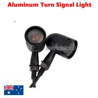 2x Black Smoke lens Turn Signal Blinkers Light Harley Ultra Tour Glide Classic