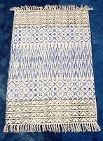 2x3' Indian Printed Handwoven Area Rug Outdoor Designer Killim Carpat Floor Runn