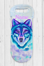 Wolf Personalised Water Bottle Cooler Carry Bag