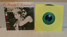 Wendy O William & Lemmy Stand By Your Man - Punk - 45 RPM - 7""