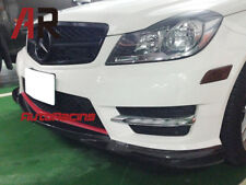 GH Style Carbon Fiber Front Lip For 2012+ W204 C250 C300 w /AMG Sports Only